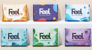 Feel - Exclusive 50% off the first month multivitamin subscription