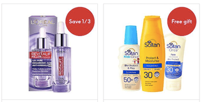 Boots - Save 10% when you spend £50