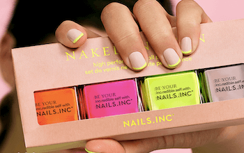 Nails Inc - Save 10% when you sign up