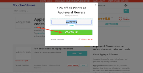 Go to the Appleyard Flowers website