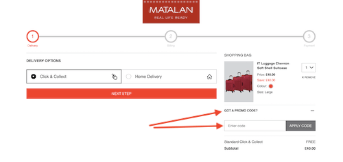 Matalan voucher code savings