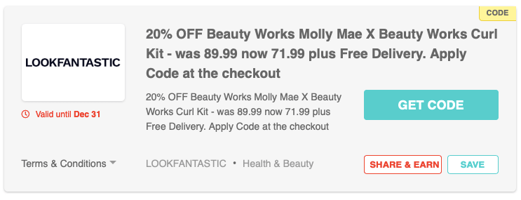 Beauty Works Molly Mae X Beauty Works Curl Kit
