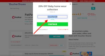 Copy PatPat discount code