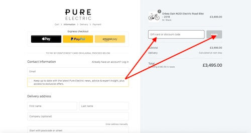 Pure Electric Discount Codes savings