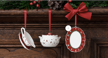 Villeroy & Boch traditional Christmas Decorations