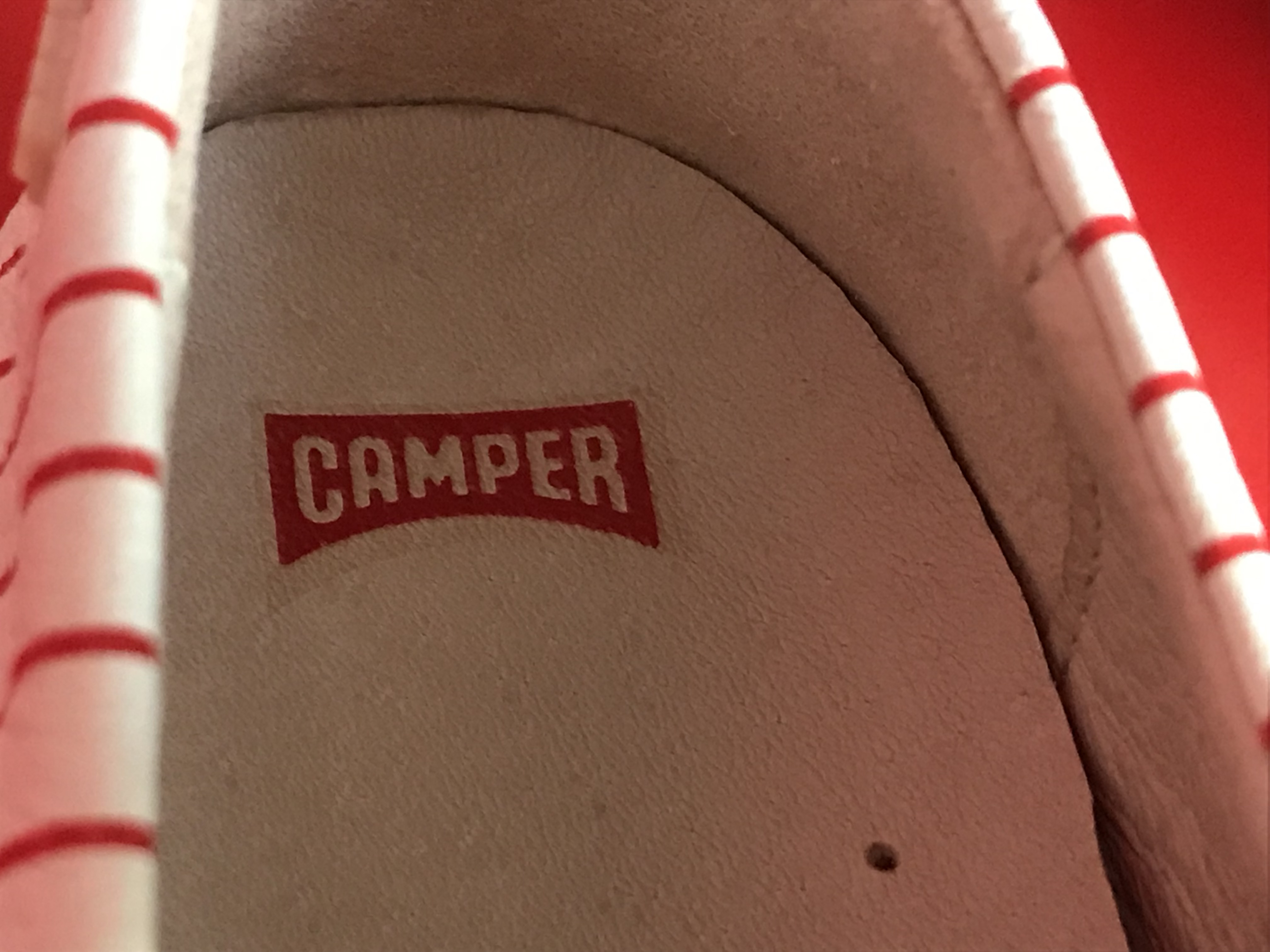 Camper Twins shoes for girls Right Shoe